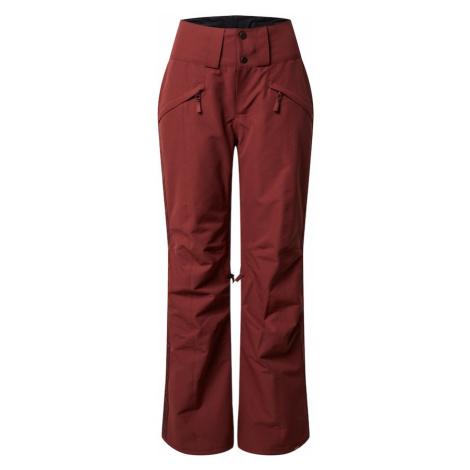 ROXY Spodnie outdoor 'Spiral' czerwone wino