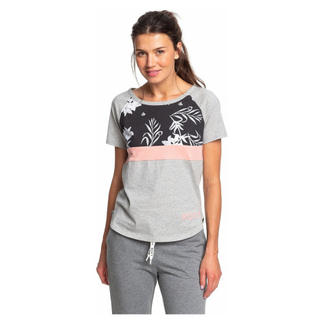 T-shirt Roxy Before I Go - SGRH/Heritage Heather