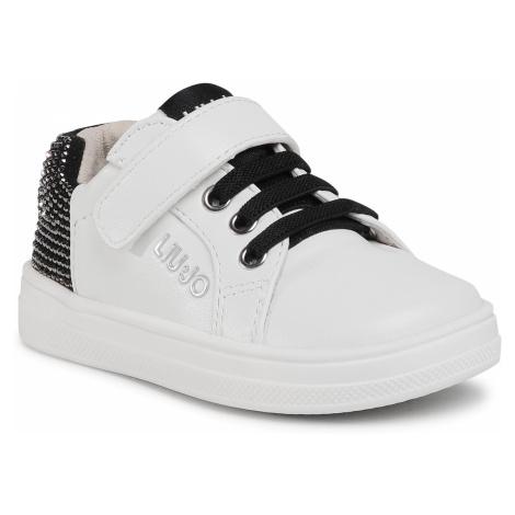 Sneakersy LIU JO - Mini Alicia 501 4F0303 EX014 Milk S1400