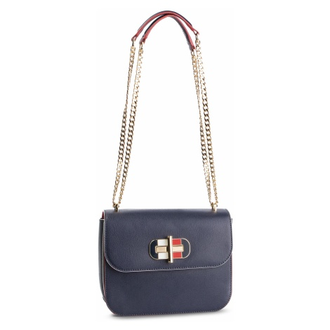 Torebka TOMMY HILFIGER - Turnlock Crossover AW0AW06400 413
