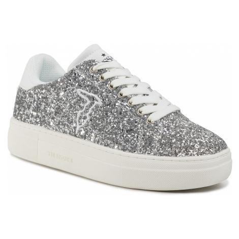 Sneakersy TRUSSARDI JEANS - 79A00475 M020