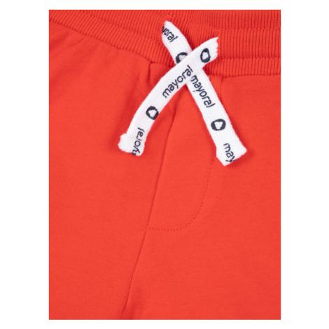 Mayoral Szorty materiałowe 611 Czerwony Regular Fit
