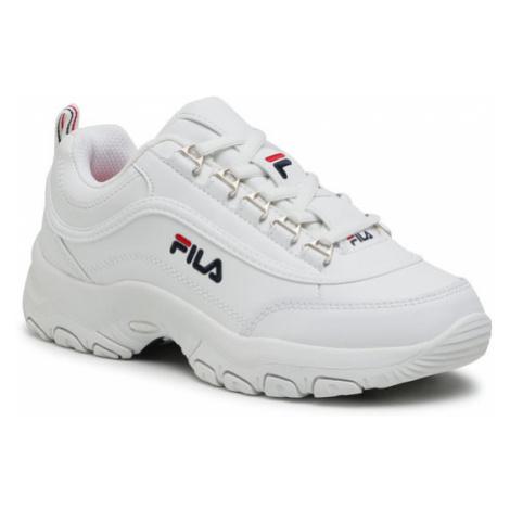 Fila Sneakersy Strada Low Kids 1010781.1FG Biały