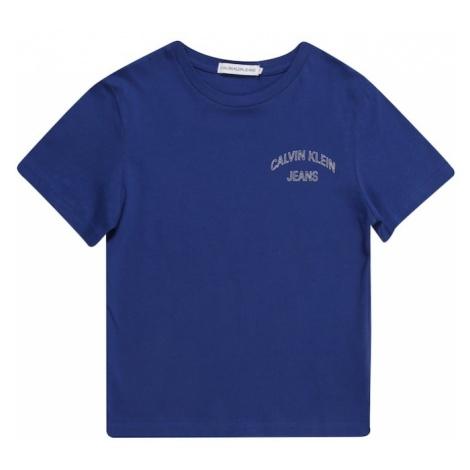 Calvin Klein Jeans Koszulka niebieski / biały