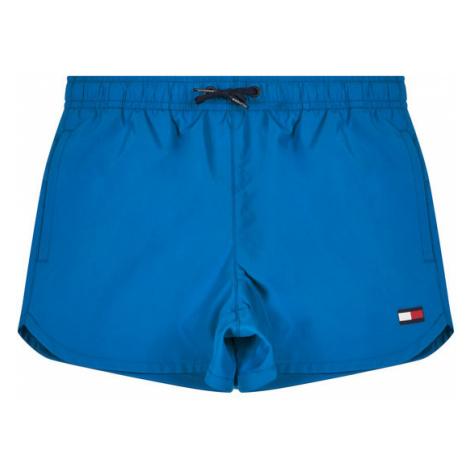 TOMMY HILFIGER Szorty kąpielowe Runner UB0UB00181 Niebieski Regular Fit
