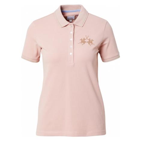 La Martina Koszulka różowy pudrowy