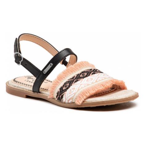 Pepe Jeans Sandały Elsa Etnic PGS90142 Różowy