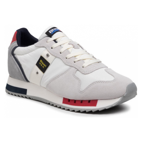 Blauer Sneakersy S1QUEENS01/MES Biały