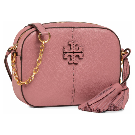 Torebka TORY BURCH - Mcgraw Camera Bag 64447 Pink Magnolia 651