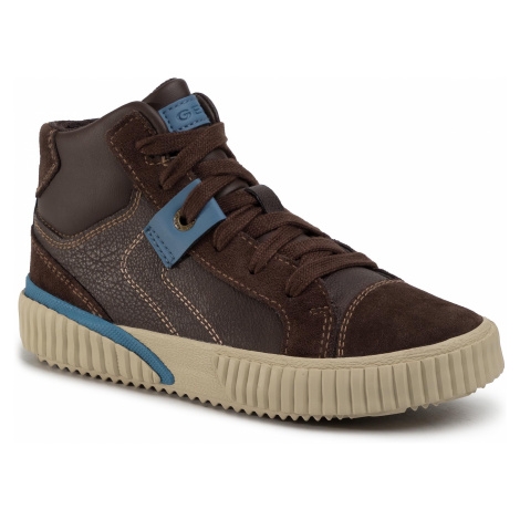 Sneakersy GEOX - J Alonisso B. D J942CD 05422 C6402 Brown/Avio