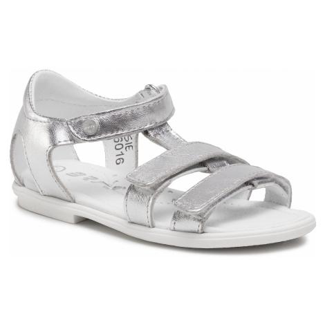 Sandały BARTEK - 76016/SIE Srebrny