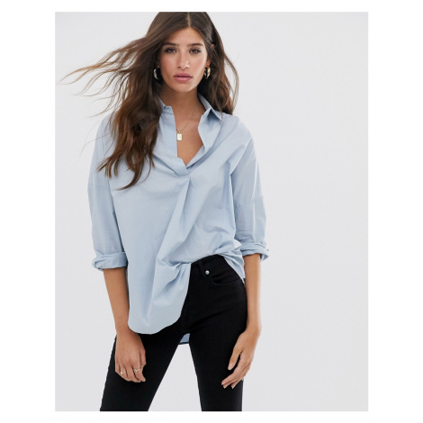 French Connection rhodes poplin oversized shirt
