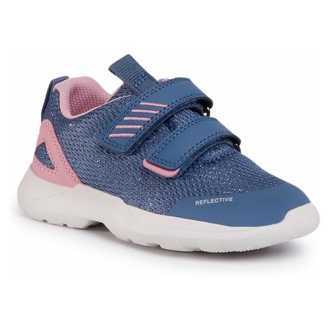 Sneakersy SUPERFIT - 6-09207-81 D Blau/Rosa
