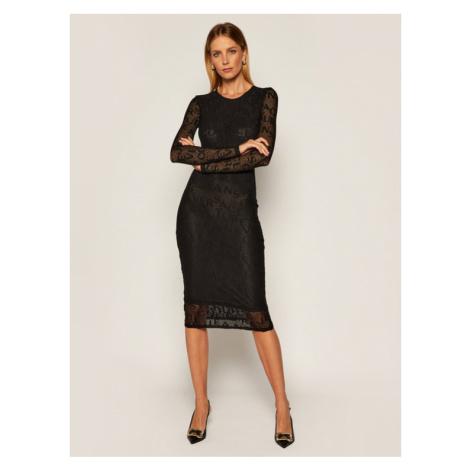 Versace Jeans Couture Sukienka codzienna D2HZB426 Czarny Slim Fit