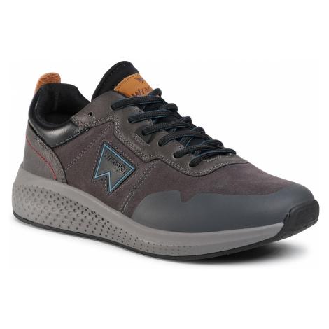 Sneakersy WRANGLER - Sequoia Patch WM02090A Grey/Black 228