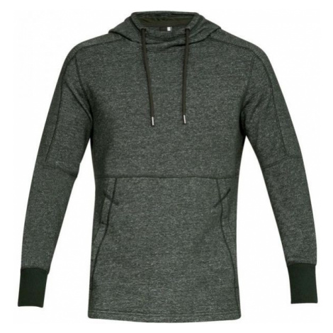 Under Armour SPECKLE TERRY HOODY ciemnozielony L - Bluza męska
