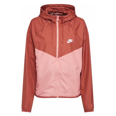 Nike Sportswear Kurtka przejściowa brzoskwiniowy / różowy pudrowy