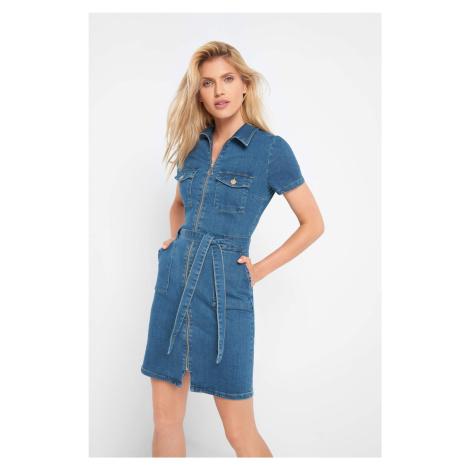 Jeansowa sukienka Orsay