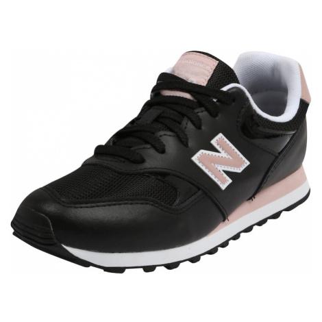 New balance Trampki niskie 'WL393' biały / czarny / różowy pudrowy
