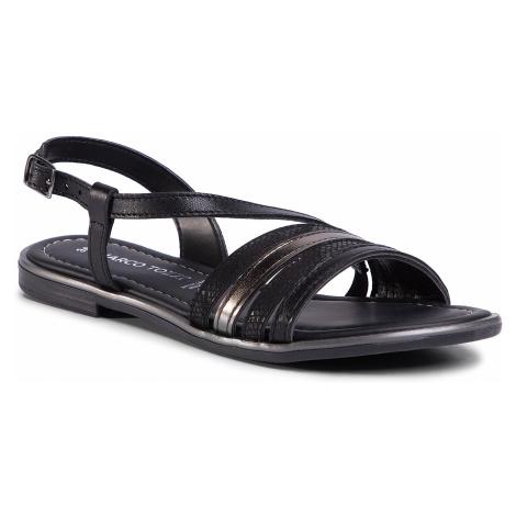 Sandały MARCO TOZZI - 2-28143-24 Black Comb 098