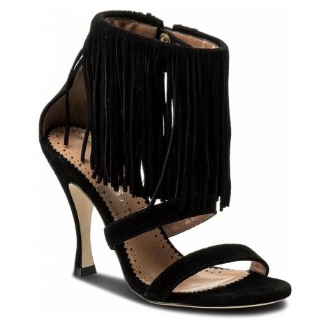 Sandały TWINSET - Sandalo CS8TA1 Nero 00006