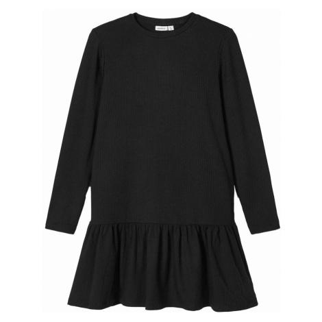 NAME IT Sukienka 'ROLUMA' czarny