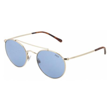 POLO RALPH LAUREN Okulary przeciwsłoneczne niebieski / złoty