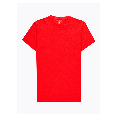 GATE Basic dżersejowa koszulka z kieszenią na piersi