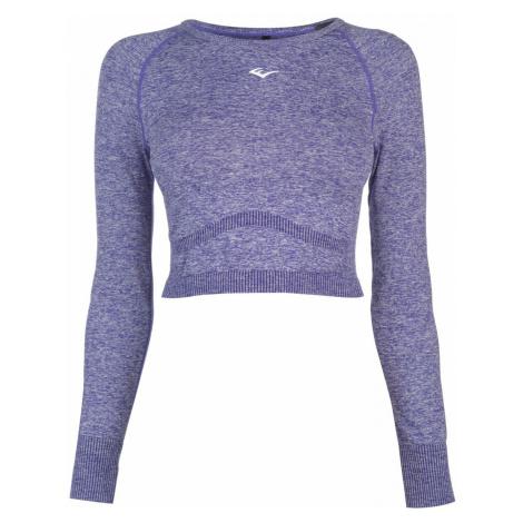 Everlast Long Sleeve Crop T Shirt Ladies