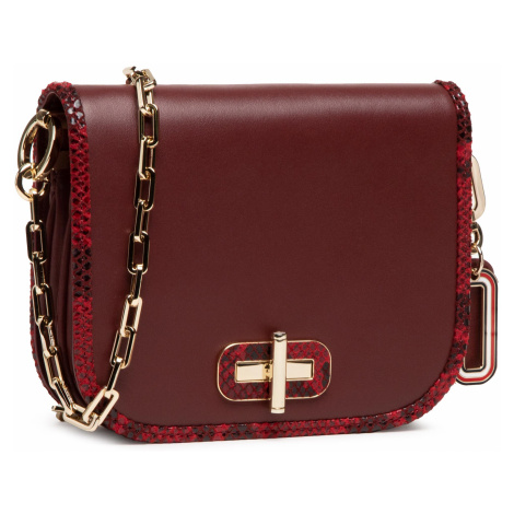 Torebka TOMMY HILFIGER - Leather Statement Sm Crossover AW0AW09083 VLP