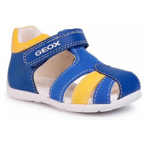 Sandały GEOX - B Elthan B. C B021PC 05410 C0797 Royal/Yellow