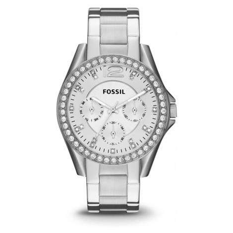 Zegarek FOSSIL - Riley ES3202 Sliver/Steel