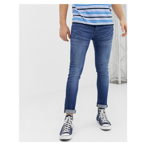 Loyalty & Faith super skinny fit jeans in midwash blue