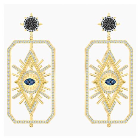 Kolczyki sztyftowe Tarot Magic, wielokolorowe, w odcieniu złota Swarovski