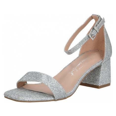 NEW LOOK Sandały z rzemykami 'ZANIEL 3' srebrny