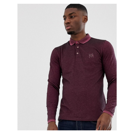 Only & Sons long sleeve polo
