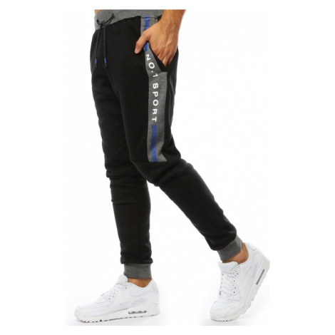Men's sweatpants joggers black UX2092