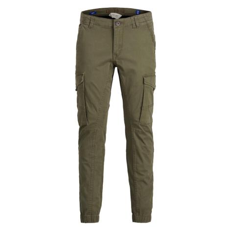 Jack & Jones Junior Spodnie 'Paul' khaki