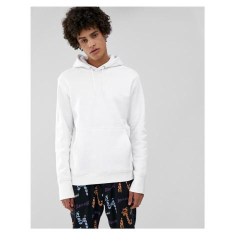 Weekday Hawk hoodie in white