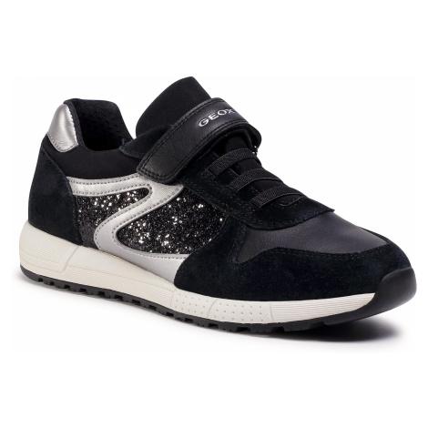 Sneakersy GEOX - J Alben G. A J04AQA 022EW C9999 D Black