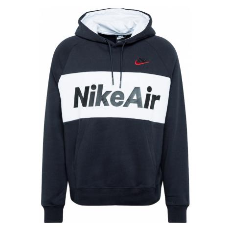 Nike Sportswear Bluzka sportowa 'AIR' czarny / biały