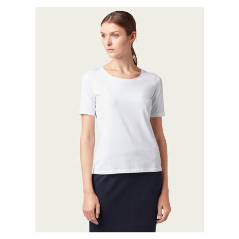 Boss Bluzka Emmsi 50390772 Biały Slim Fit Hugo Boss