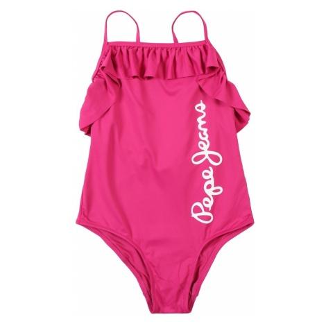 Pepe Jeans Strój kąpielowy 'SAIGON SWIMSUIT' różowy