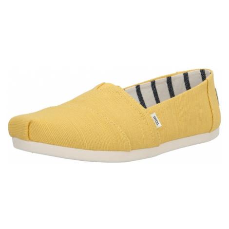 TOMS Espadryle żółty
