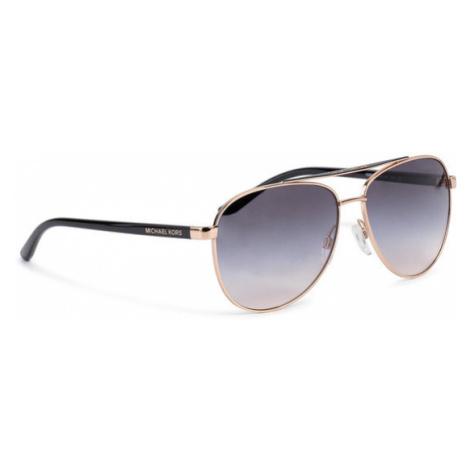 Michael Kors Okulary przeciwsłoneczne Hvar 0MK5007 109936 Złoty