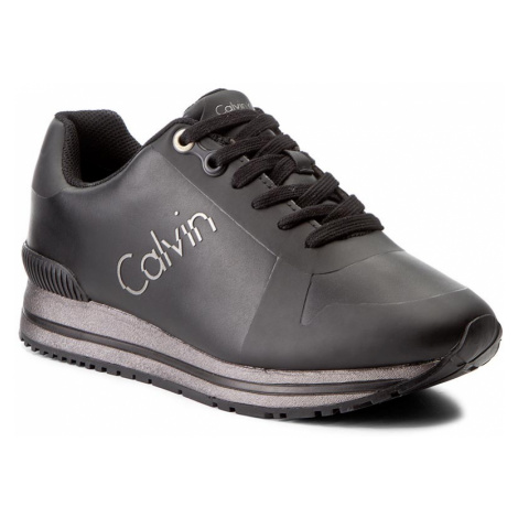 Sneakersy CALVIN KLEIN JEANS - Tabitha R0654 Black/Pewter