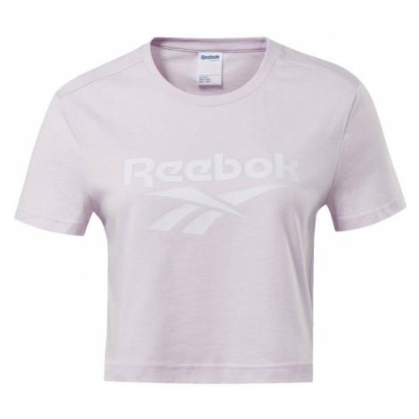 Reebok Classic Koszulka pastelowy róż / biały