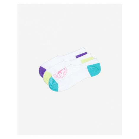 Converse 3-pack Skarpetki Biały