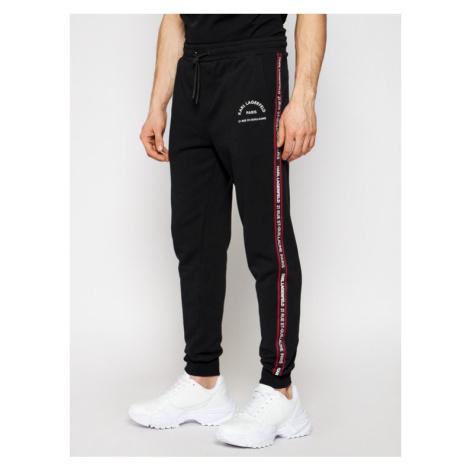 KARL LAGERFELD Spodnie dresowe Sweat 705072 511900 Czarny Regular Fit