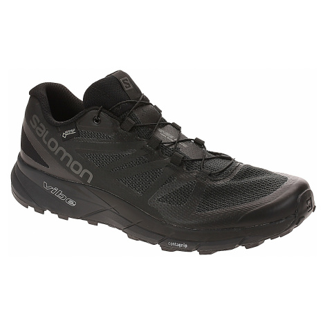 buty Salomon Sense Ride GTX Invisible Fit - Black/Black/Magnet